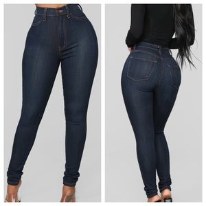 Fashion Nova Classic High Waist Jeans